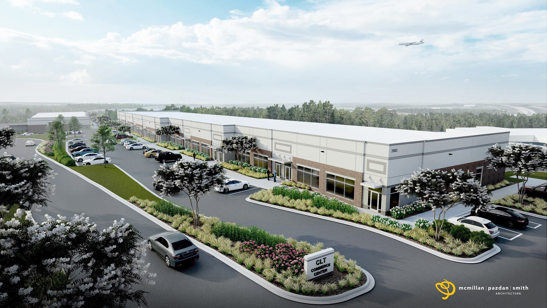 Large Maryland Developer Enlists MPS to Design 121,440 sf Industrial Flex Facility in Charlotte