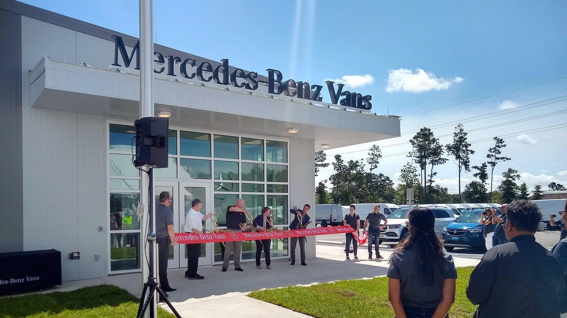 Mercedes-Benz Vans Opens New Marshalling Yard in North Charleston