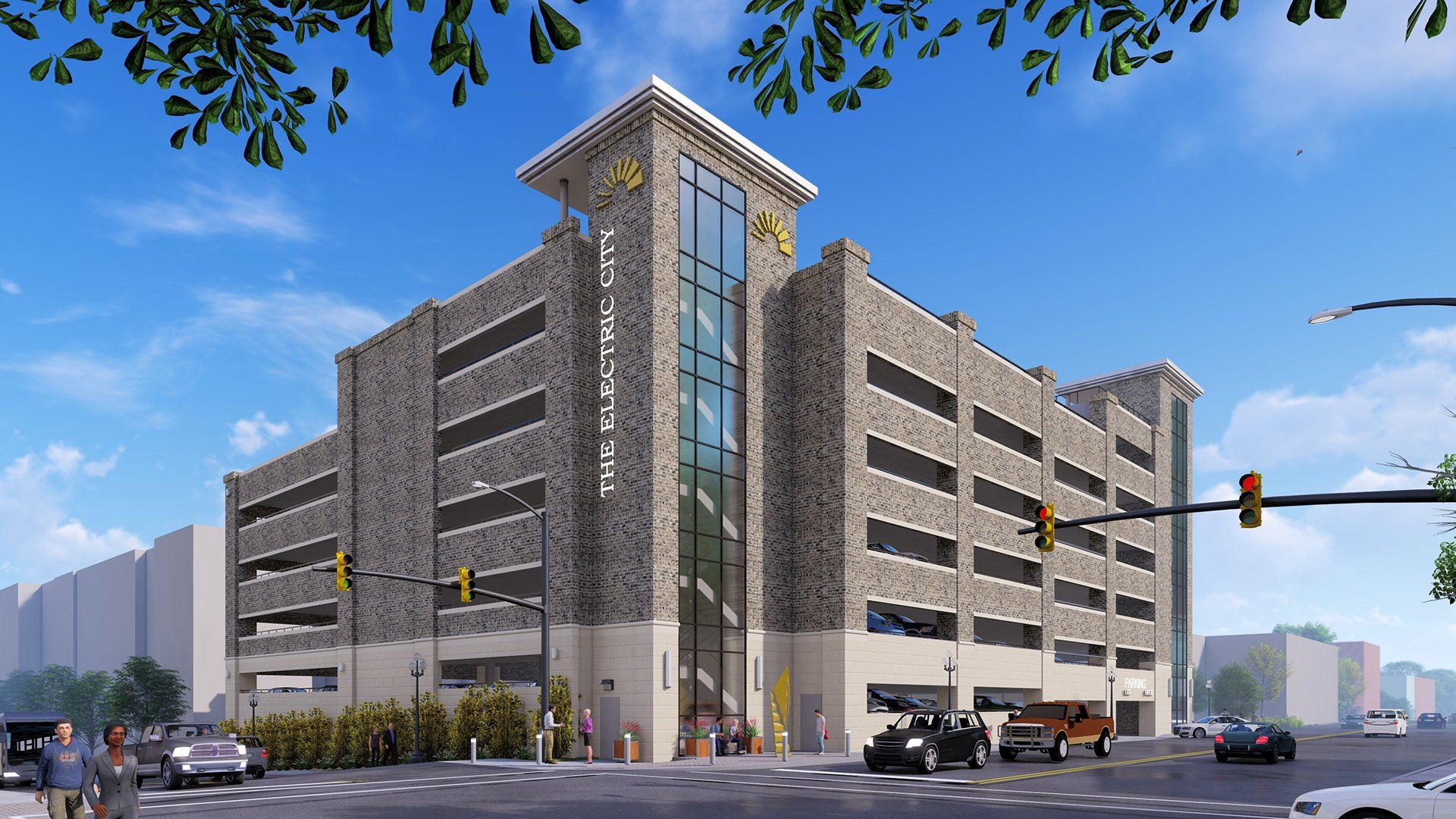 New Anderson Development Includes Parking Deck and Rooftop Bar