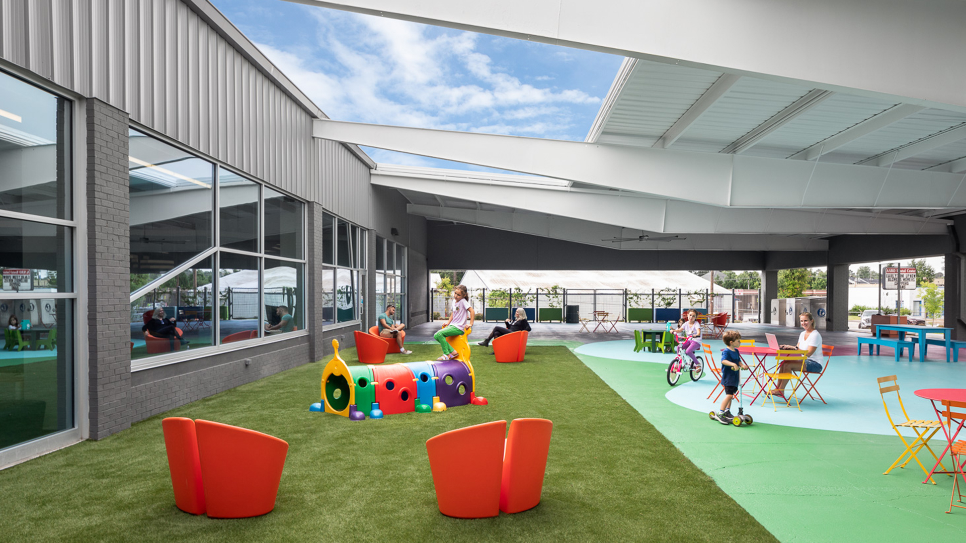 Inside Out: Extending the Library's Outdoor Footprint