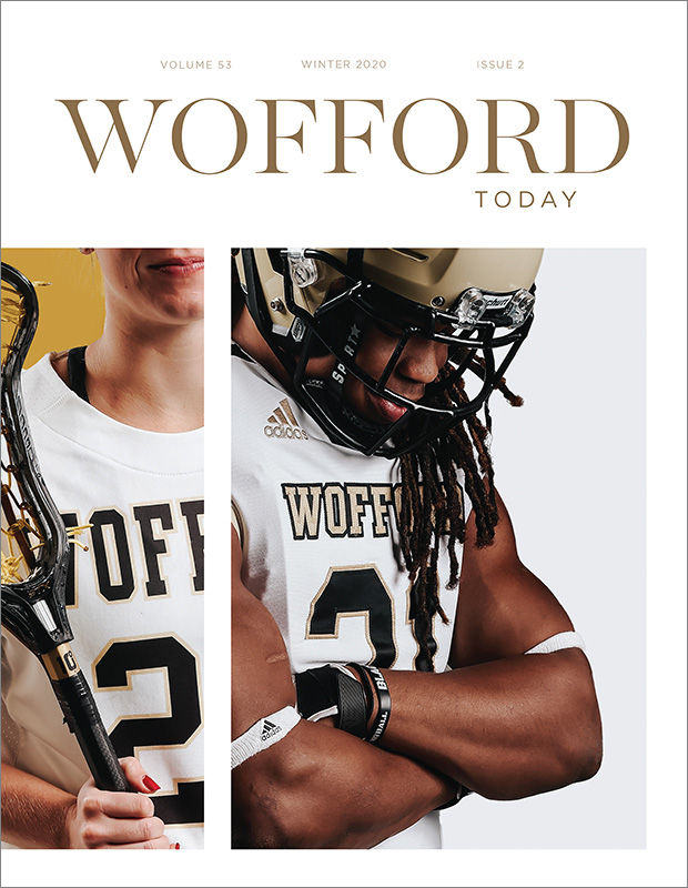 Wofford Today Magazine Article Cover